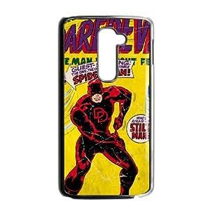 LG G2 Cell Phone Case Black Marvel Comics Daredevil VIU102563