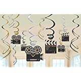 Lights, Camera, Action! Remous Décorations 12ct
