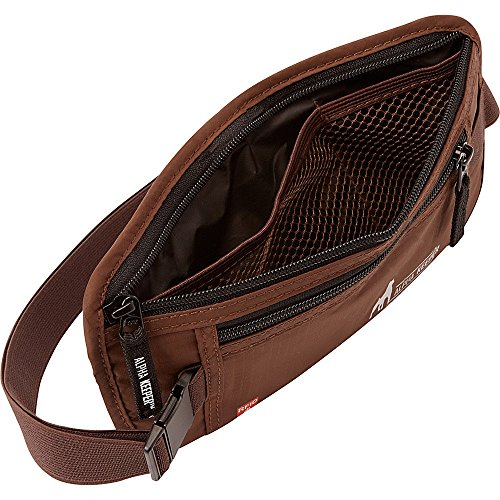 RFID Money Belt For Travel With RFID Blocking Sleeves Set For Daily Use by Alpha Keeper (Image #4)