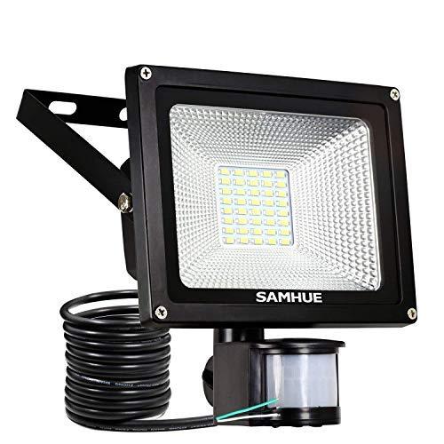 20W security lights motion sensor floodlight outside lighting with sensor...