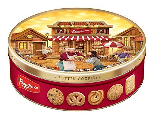 Bauducco Butter Cookies Tin, 12 oz. (1 Tin) (Christmas Denmark Traditions In)
