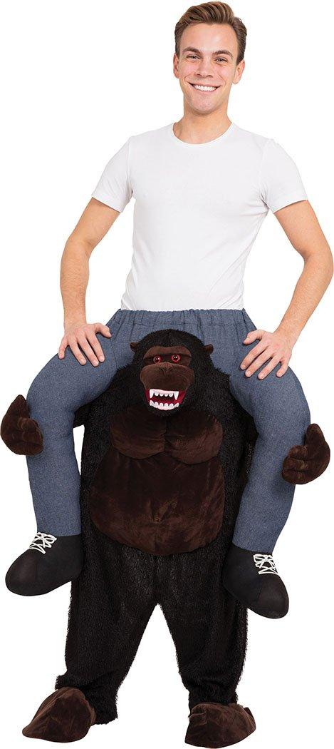 Gorilla Mascot Halloween Tier Party Kostüm Kleid Outfit Einheitsgröße