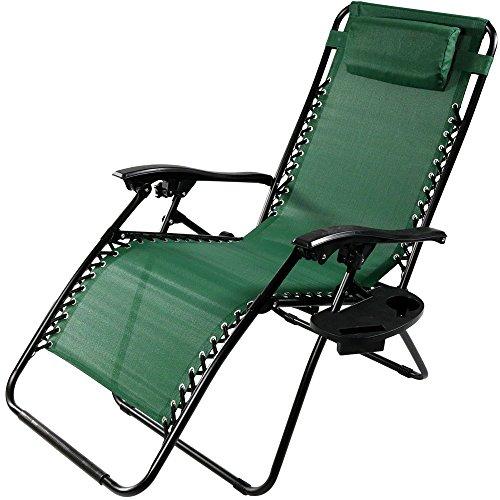 Green Outdoor Recliner - 4