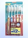 Colgate SlimSoft Compact Ultra Soft Bristles Toothbrush 5pcs