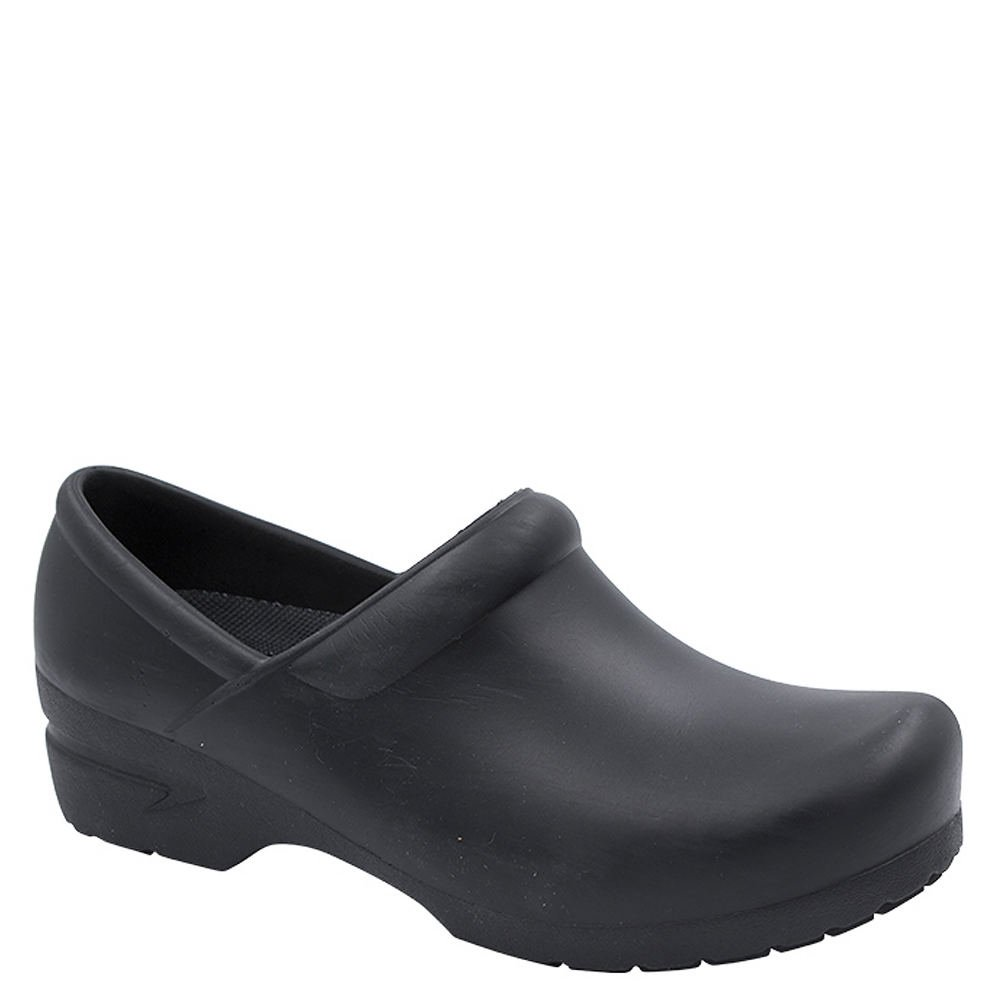 Anywear Women's Sr Angel Clog With Anatomical Foot Bed Black