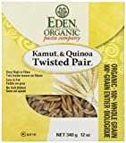 Eden Foods Organic kamut & quinoa twisted pair, 340 gm