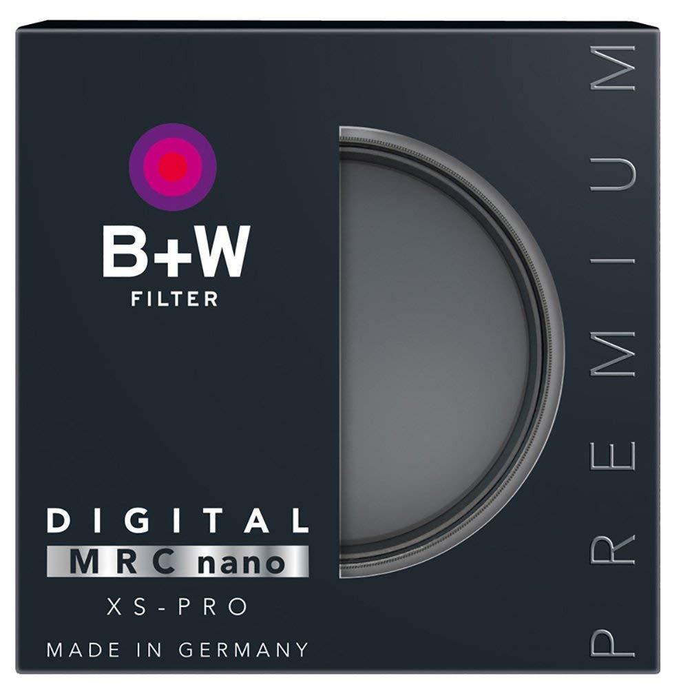 B+W 1089242 Graufilter ND1000 49mm MRC Nano 16x verg/ütet Slim Premium matt-schwarz XS-Pro
