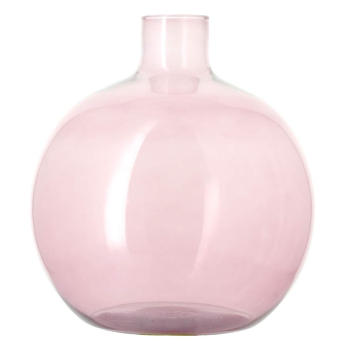 Bruno Evrard Astoria jarrón damajuana Rosa en Cristal Reciclado 35 cm - Alric: Amazon.es: Hogar