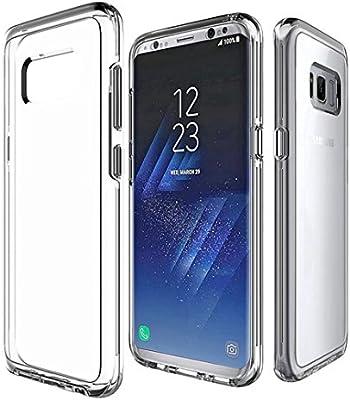 Funda para Samsung Galaxy S8 Plus,MUTOUREN Carcasa para Samsung Galaxy S8 Plus Silicona TPU Transparente Cover para Samsung Galaxy S8 Plus - ...