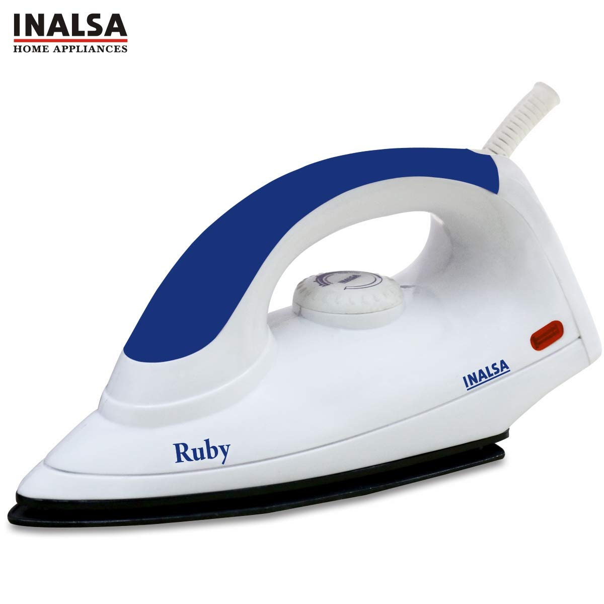 Inalsa Ruby 1000-Watt Dry Iron With Non-Stick Coated