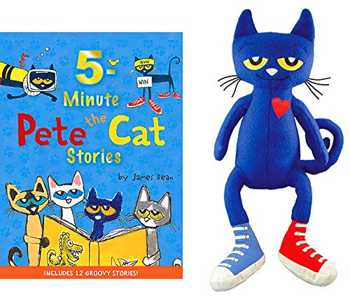 Pete the Cat Book & Plush Toy Gift Bundle #1]()