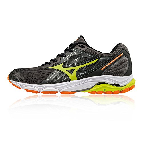 Mizuno Men Wave Inspire 14 Running Shoes Black