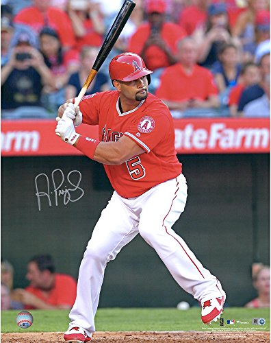 Albert Pujols Los Angeles Angels Autographed 16