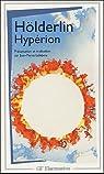 Hypérion ou l'ermite de Grèce par Hölderlin