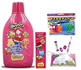 Shopkins Oral Hygiene Bundle! Shopkins Travel kit with Toothpaste, Mouthwash, and Flossers Bundle!