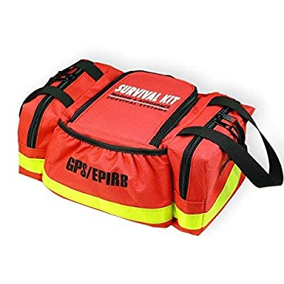 Image of First Aid Kits Goglobe Boat Safety Kit for Boating Sailing Kayaking Fishing Marine Safety Required by Coast Guard