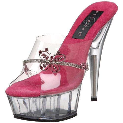 8361 Pour Sandales Femme Pleaser Rose 8OUwqRRF