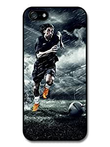 Zlatan Ibrahimovic Running Orange Football Player case for iphone 4s A174s
