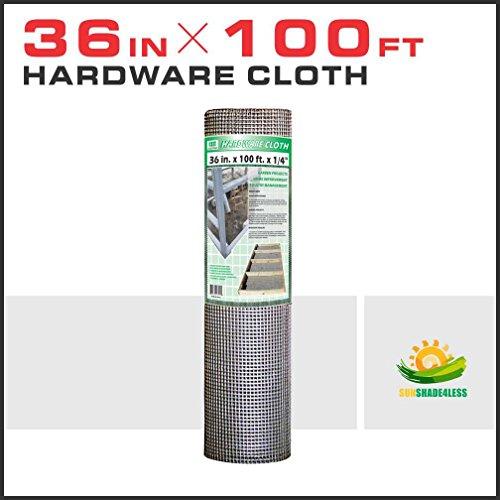Windscreen4less Custom Size Cut to Make 36-Inch Tall 23-Gaug