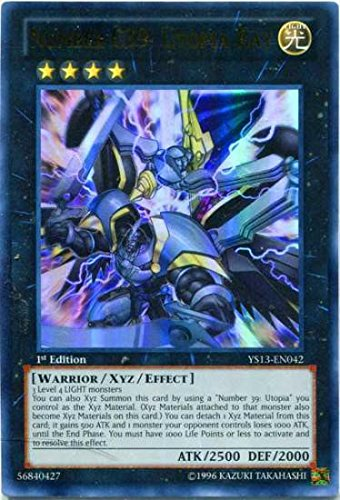 Yu-Gi-Oh! - Super Starter: V for Victor... Number C39: Utopia Ray YS13-EN042