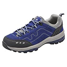 Oncefirst Men's Leather Walking Hiking Shoes