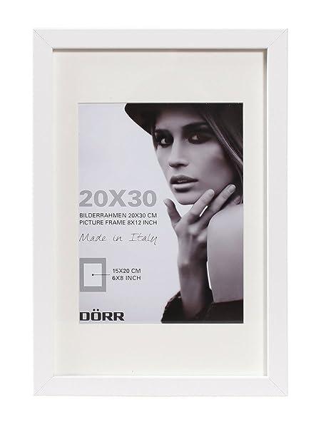 Dorr Wood Photo Frame with 16 x 24-Inch Insert, White, 20 x 28-Inch ...