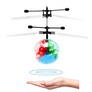 RC Flying Ball Toy Helicopter Drone Juguetes,Inducción Infrarroja ...
