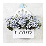 LuckySHD-Artificial-Flowers-Bouquet-with-Hanging-Basket-Fake-Flower-for-Decoration