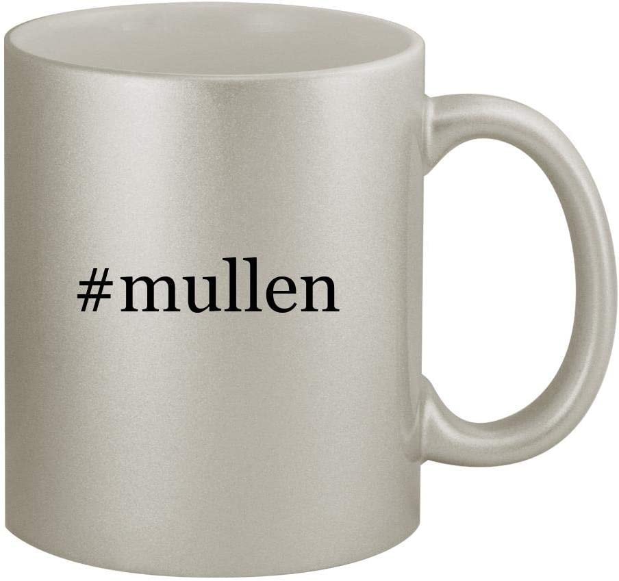 #mullen - 11oz Hashtag Silver Coffee Mug Cup, Silver 51NGIGaUnlL