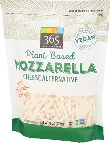 365 by Whole Foods Market, Plant-Based Cheese Shreds, Mozzarella, 8 Ounce 3
