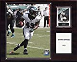 NFL Philadelphia Eagles Darren Sproles Player Plaque, 12 x 15-Inch, Brown