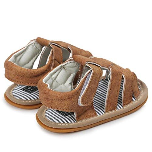 Huhu833 Baby Schuhe, Baby Boys Sandalen Schuh Freizeitschuhe Sneaker Anti-Rutsch Weiche Sohle Kleinkind Khaki