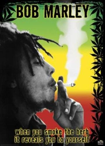 Anonymous - Bob Marley - Smoke the Herb man NO LONGER IN PRINT - LAST ONES!! ()
