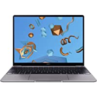"Huawei MateBook 13 Notebook con Display FullView 13"", Intel Core i7-8565U, Sensore Impronte, RAM 8 GB, SSD 512 GB, Intel HD Graphics 620, Audio Dolby Atmos, Grigio"