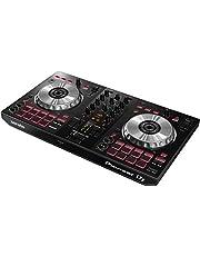 Pioneer DJ - 2-kanaals DJ-controller voor Serato DJ Lite - Mixer - DJ-accessoires - Scratch Pad - Twee grote aluminium jog Wheels