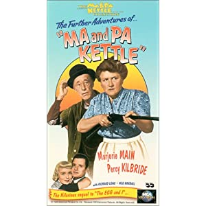 """The Further Adventures of """"Ma & Pa Kettle"""" [VHS]"""