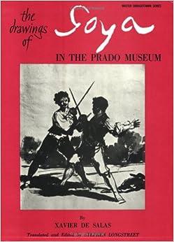 Book Drawings of Goya (Master Draughtsman Series)