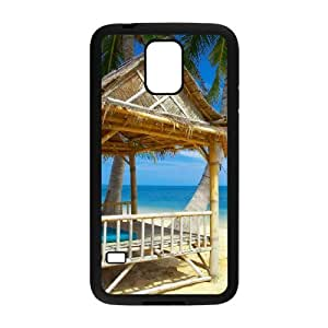 Island Beach Phone Case For Samsung Galaxy S5 i9600 [Pattern-1]