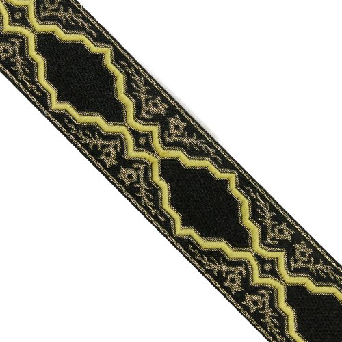 Jacquard Ribbon Metallic Trim (5 yards 1-1/4