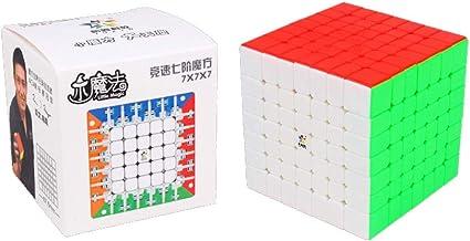 Cubelelo YuXin Little Magic 7x7 Stickerless Rubic Rubik Rubix Speed Cube Puzzle Toy