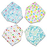 CottonTraining Pants 4 Pack Padded Toddler Potty Training Underwear for Boys and Girls