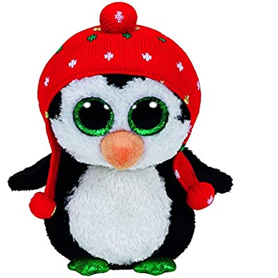 "Ty Beanie Boo Plush - Freeze The Penguin 6"": Toys & Games"