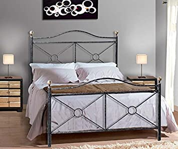 Decoracion Beltran Klassisches Bett Aus Schmiedeeisen Modell