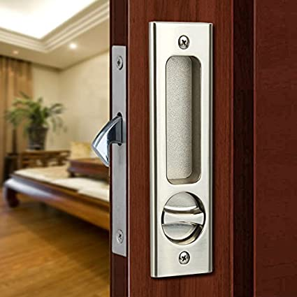 Amazon.com: CCJH Invisible Door Locks Handle with 3 Keys for Sliding ...