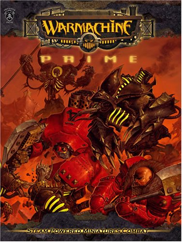 - Warmachine Prime (Steam Powered Miniatures Combat) (Iron Kingdoms)