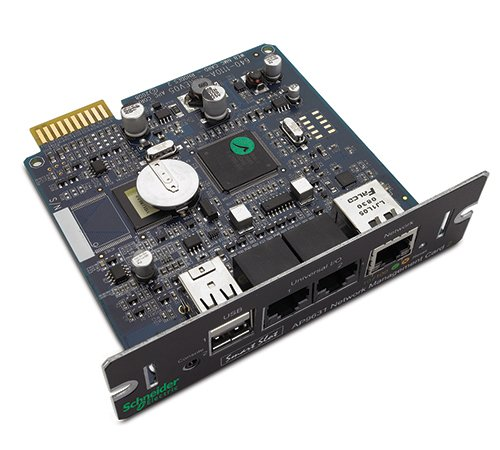 APC AP9631 UPS Network Management Card 2 with Environmental Monitoring & Adapter Apc Network Management Card