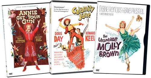 (Musical Westerns 3-Pack (Annie Get Your Gun / Calamity Jane / The Unsinkable Molly Brown))
