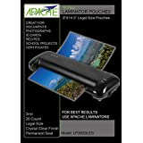 Apache Laminating Pouches, 3 mil (Legal Size, 20 Pack)