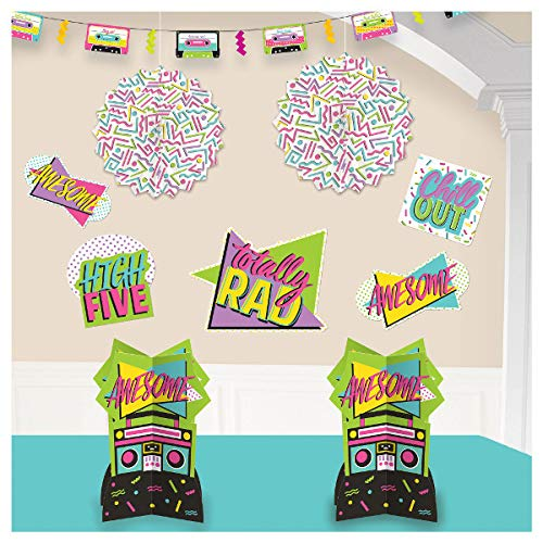 80's Party Decorating Kit ()