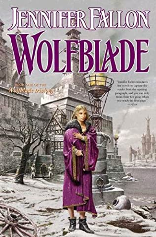 book cover of Wolfblade
